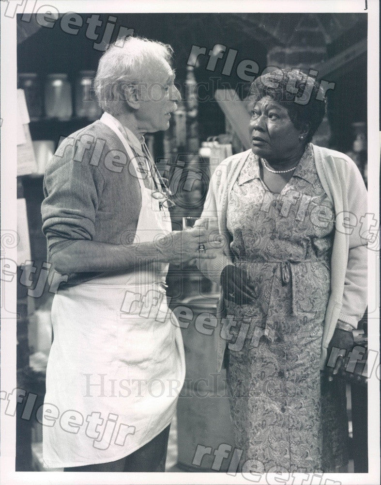 Undated Actors Harold Gould & Esther Rolle on Singer & Sons Press Photo adz475 - Historic Images