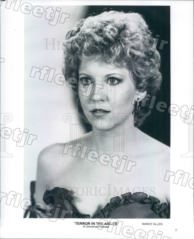 Communication on this topic: Francesca Inaudi, nancy-allen-actress/