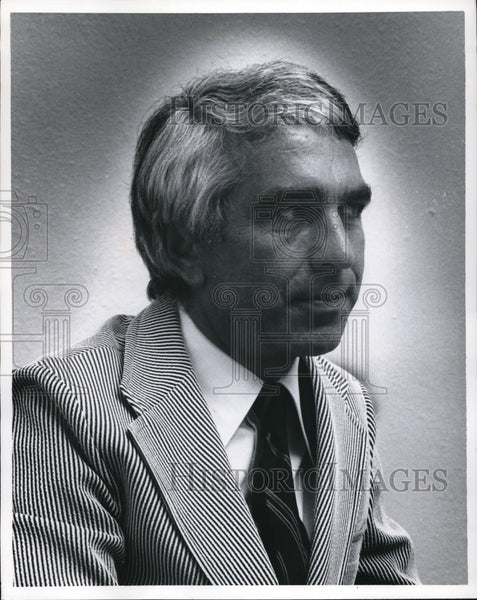 1972 Warren Bennis University of Cincinnati President - Historic Images
