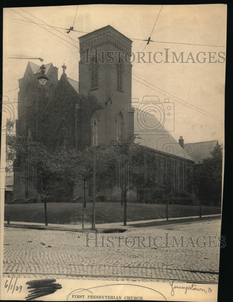 1909, First Presbyterian Church, Youngstown, Ohio. - cvb07068 - Historic Images