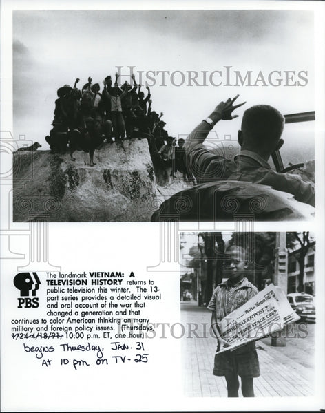 Press Photo The Landmark: VIETNAM: A TV HISTORY Returns to Public Television - Historic Images
