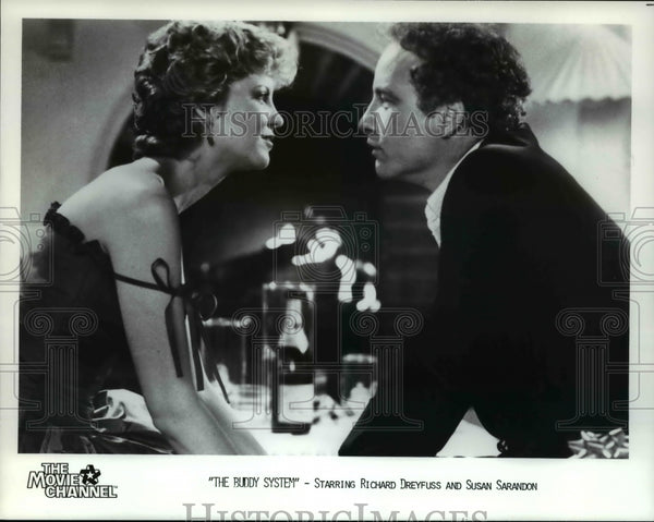 1985 Richard Dreyfuss & Susan Sarandon in The Buddy System - Historic Images