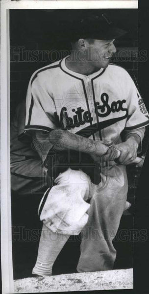 1942 Press Photo Harry Bud Sketchly White Sox - Historic Images