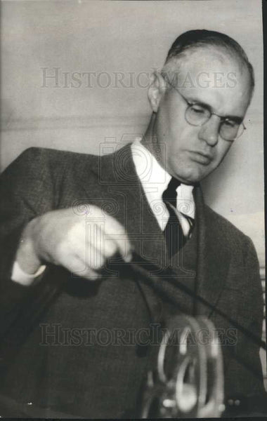 1939 Press Photo Carl Snavely Cornell University Coach - Historic Images