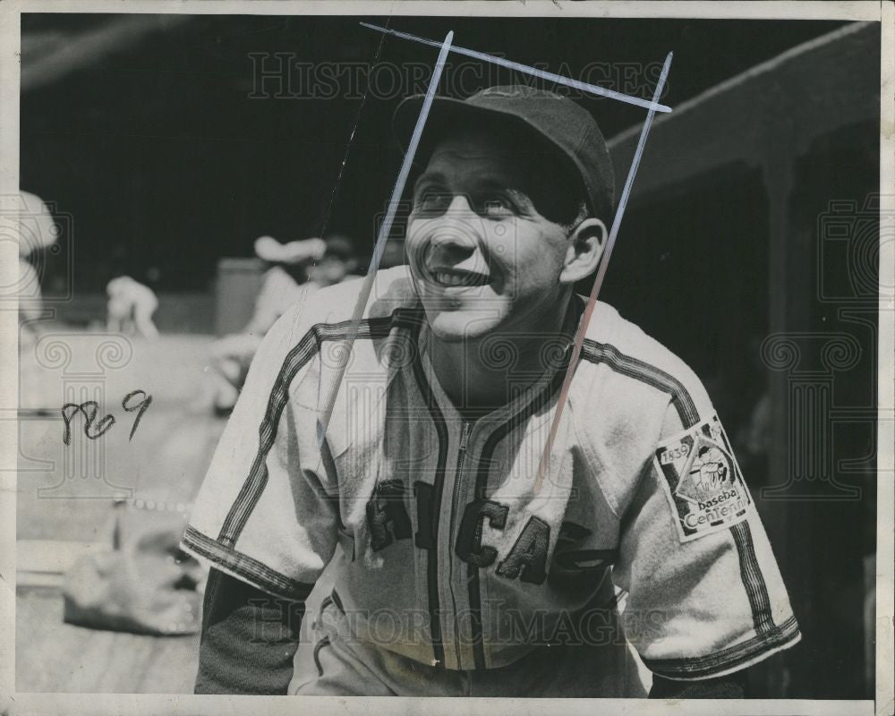1939 Press Photo Mike Tresh catcher - Historic Images