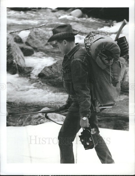 Press Photo TOMMY TOMPKINS BUSHMAN - Historic Images