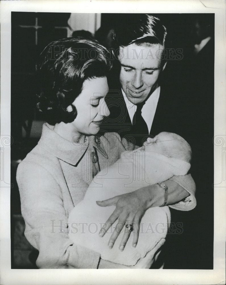 1963 Press Photo Princess Margaret son David - Historic Images