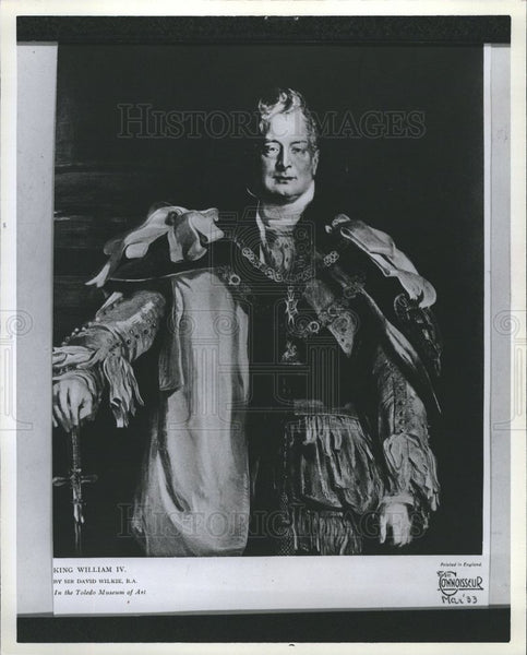 1970 Press Photo William IV of the United Kingdom - Historic Images
