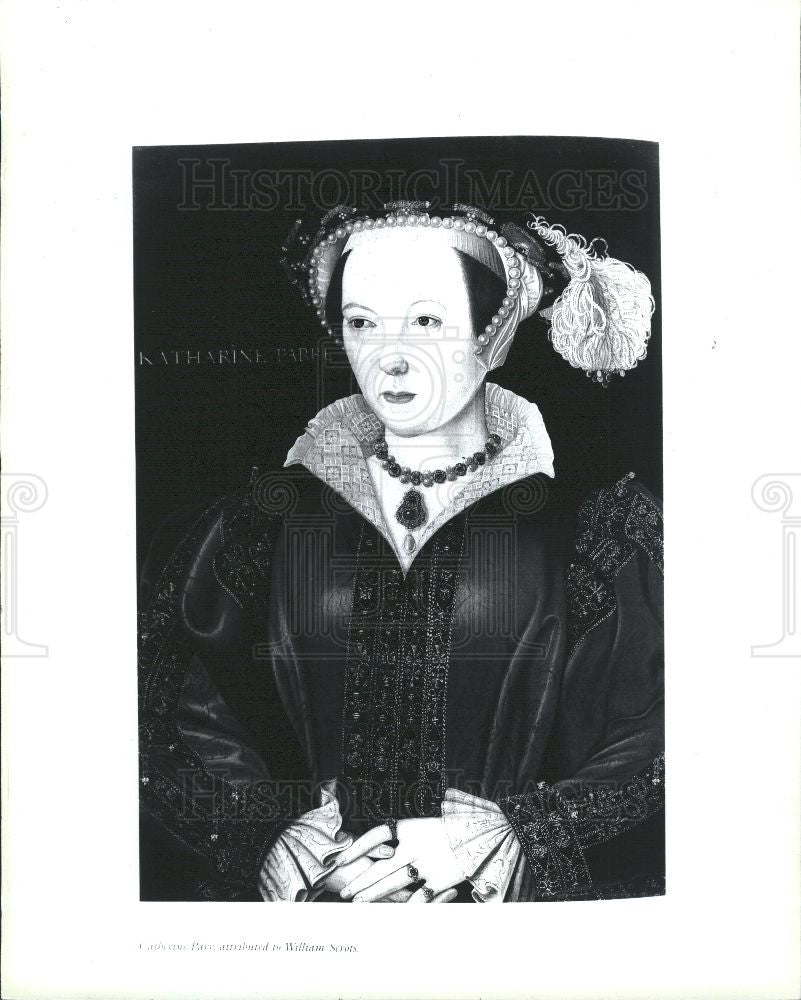 1992 Press Photo Catherine Parr - Historic Images