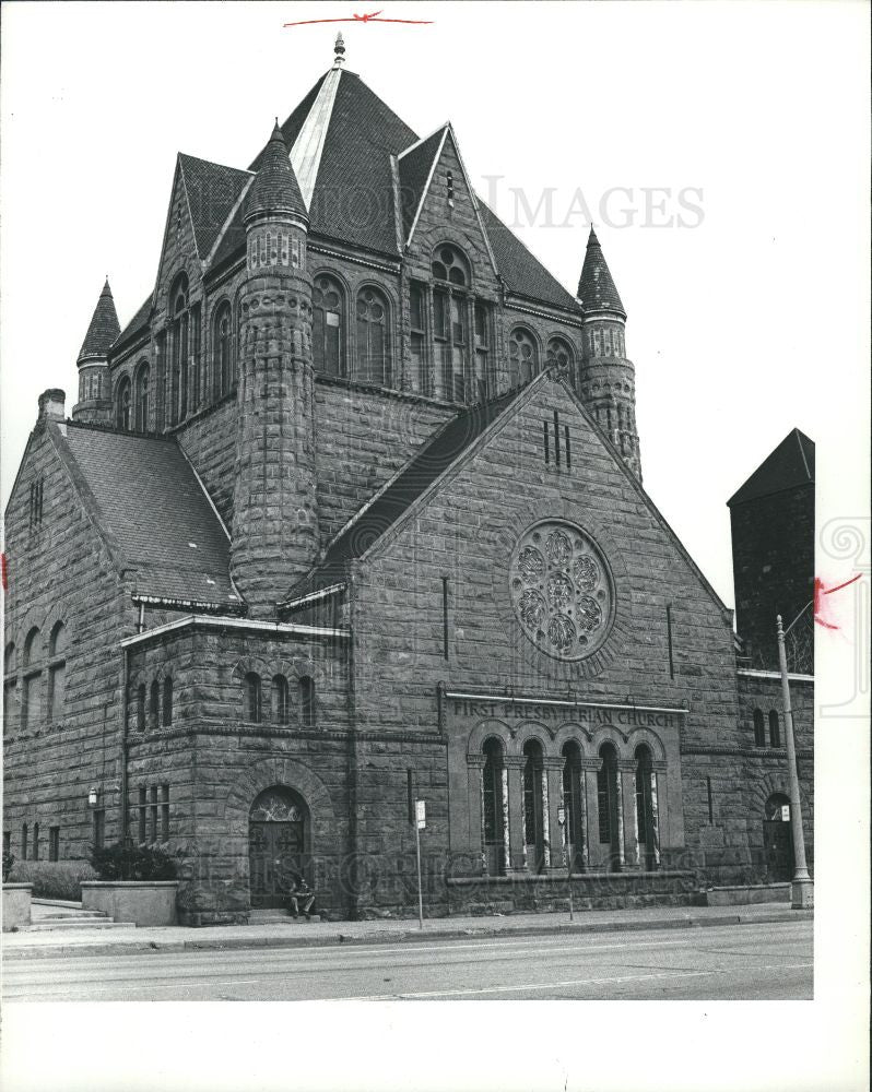 1982 Press Photo First Presbyterian Church Detroit - Historic Images