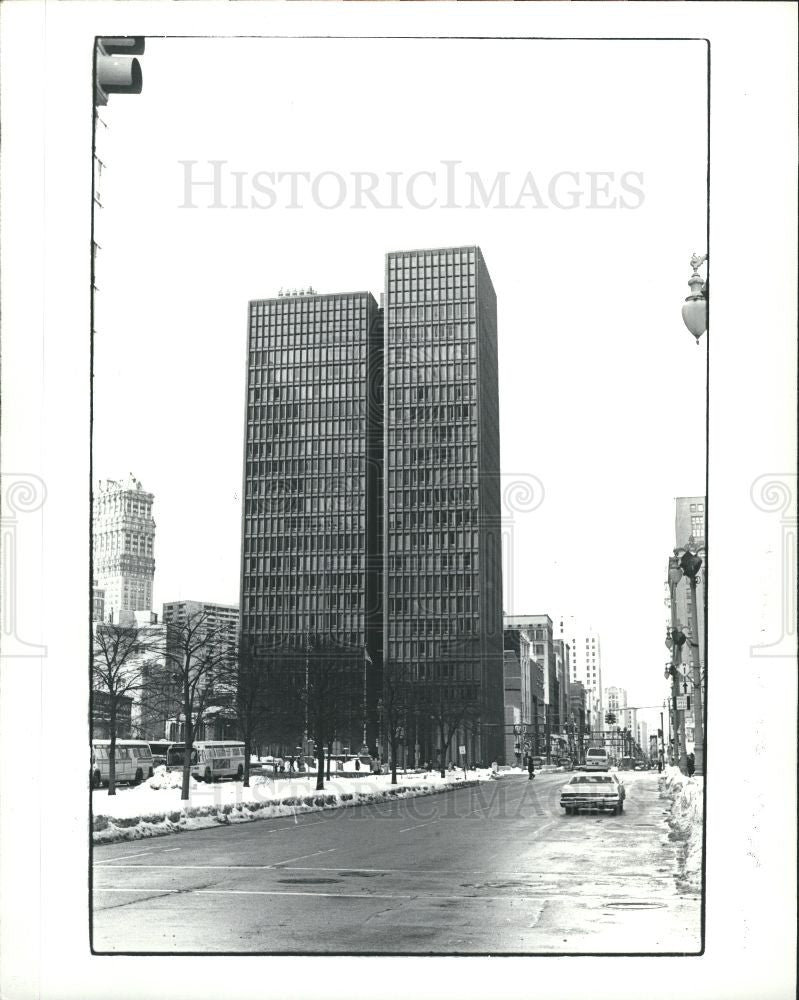 1982 Press Photo bank savings building - Historic Images