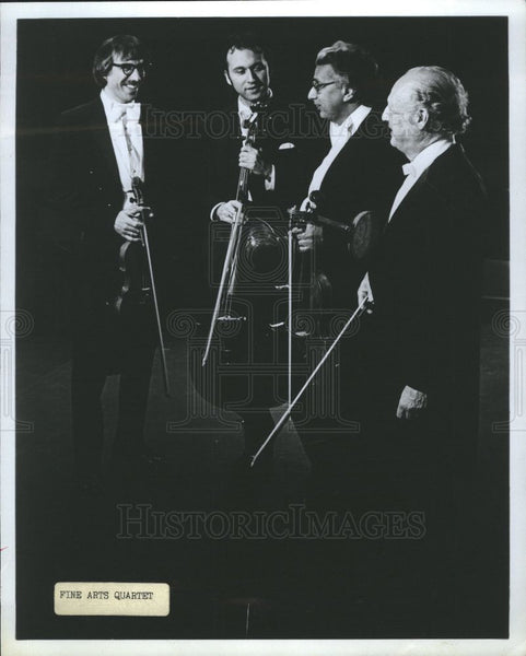 1923 Press Photo Fine Arts Quartet - Historic Images