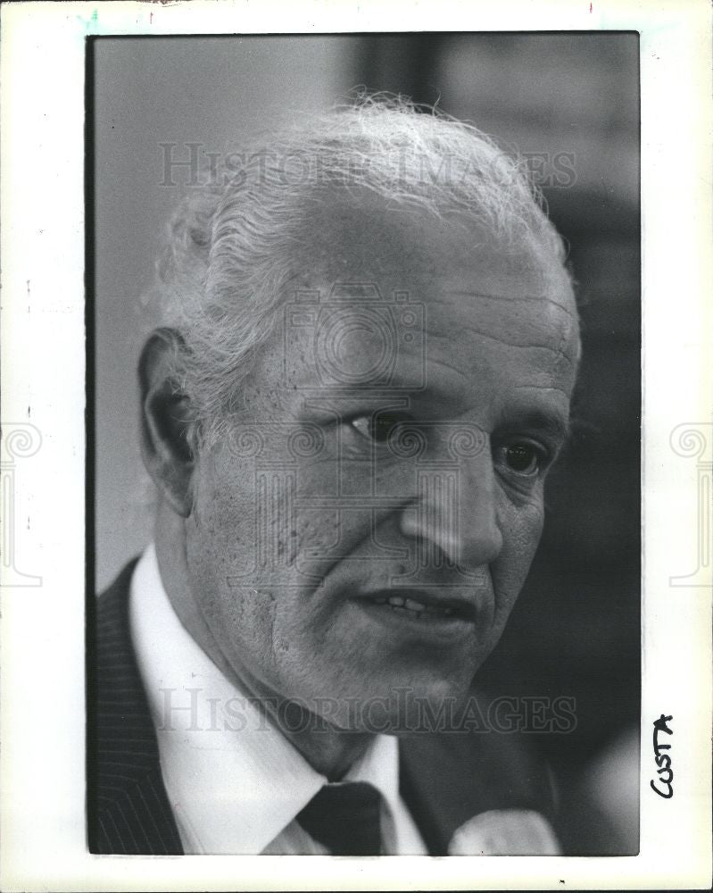 1993 Press Photo Charles Costa - Historic Images