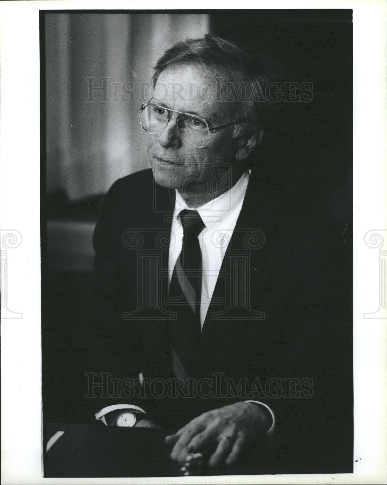 Press Photo Paul Coverdell Senator - Historic Images
