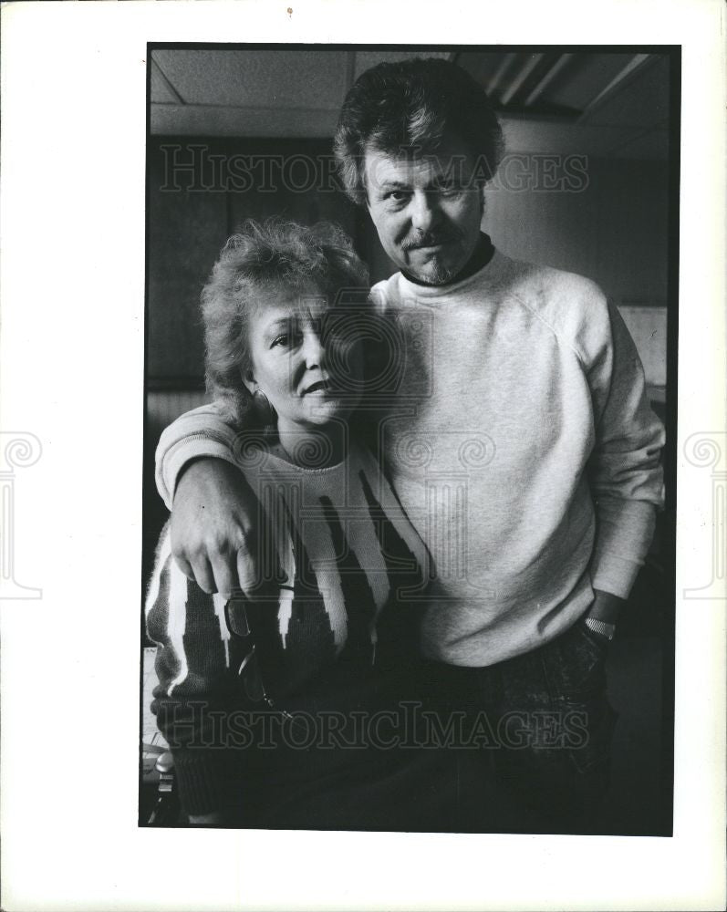 1989 Press Photo Tom Markovitz Sigrun Scheffel Ypsilant - Historic Images