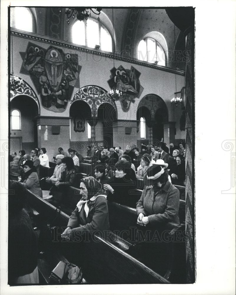 1983 Press Photo Easter - Historic Images