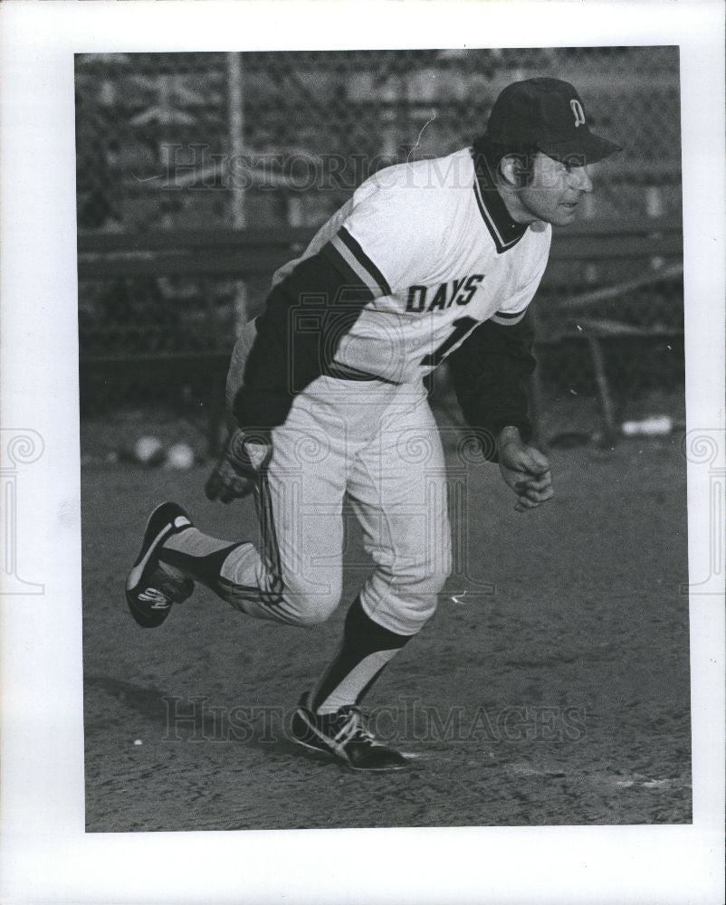 1977 Press Photo Jim Gosger  American Baseball player - Historic Images