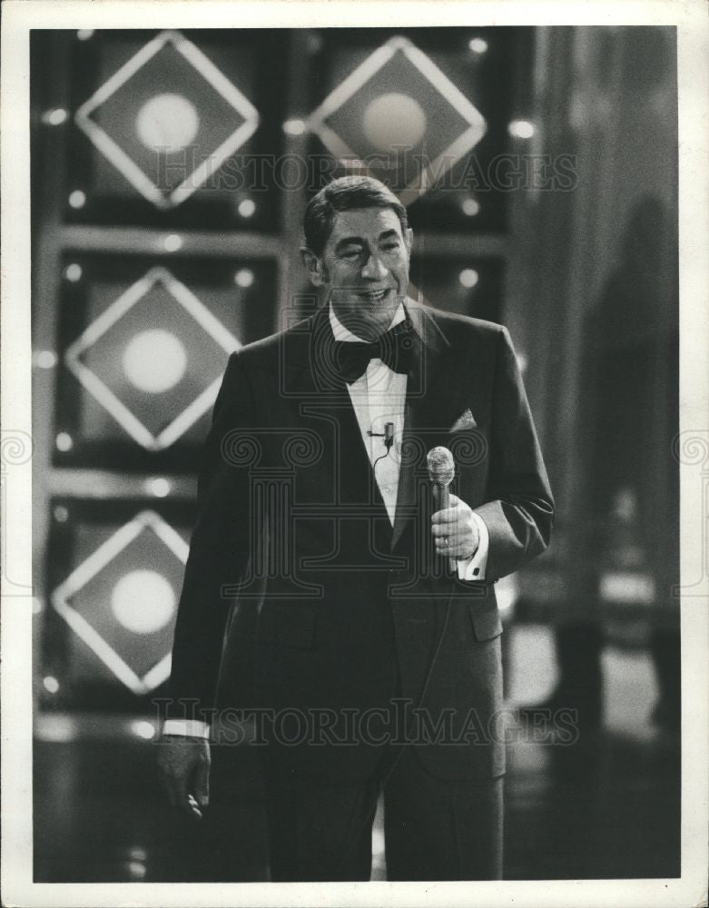 1977 Press Photo Howard Cosell sports announcer - Historic Images