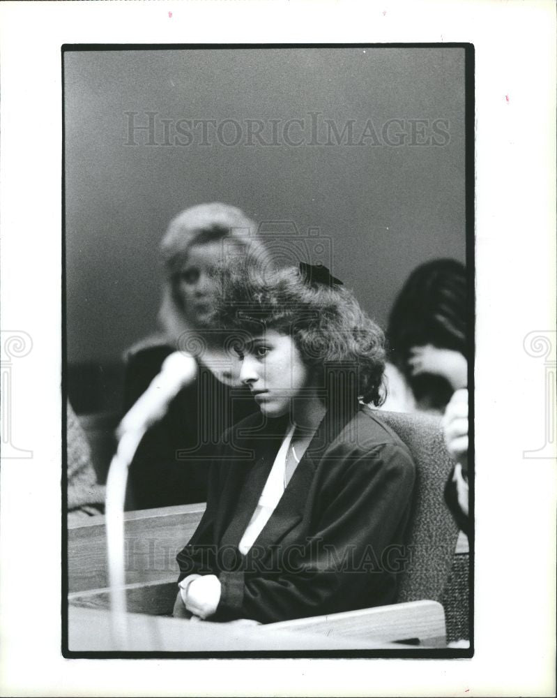 1991 Press Photo Linda Conflitti, Troy's Athens School - Historic Images