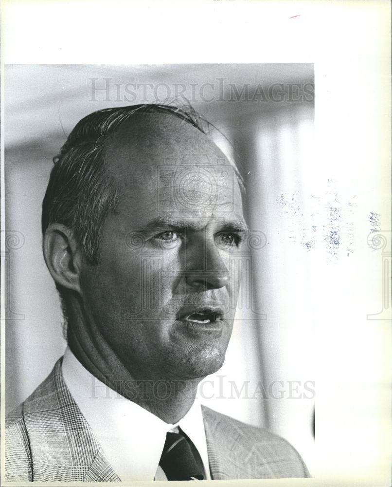 1979 Press Photo Richard Condit Attorney Whistleblower - Historic Images