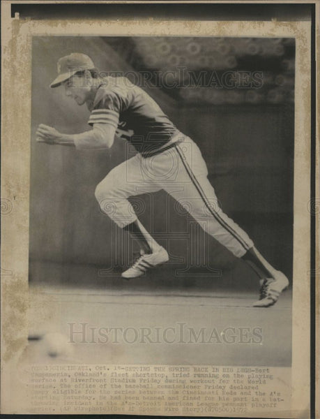 1972 Press Photo Bret Champenerin, baseball - Historic Images