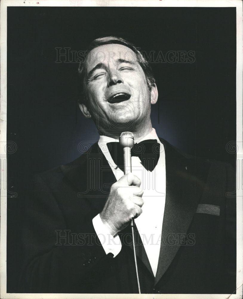 1979 Press Photo Perry Como, Singer - Historic Images