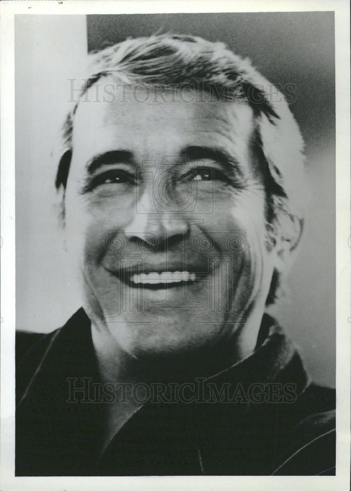 1983 Press Photo Perry Como singer - Historic Images