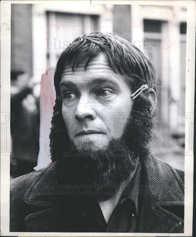 1968 Press Photo Tom Courtenay Born Loser Otley London - Historic Images