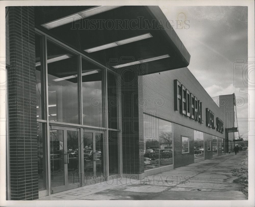 1954 Press Photo Federal Department Store Eastgate - Historic Images