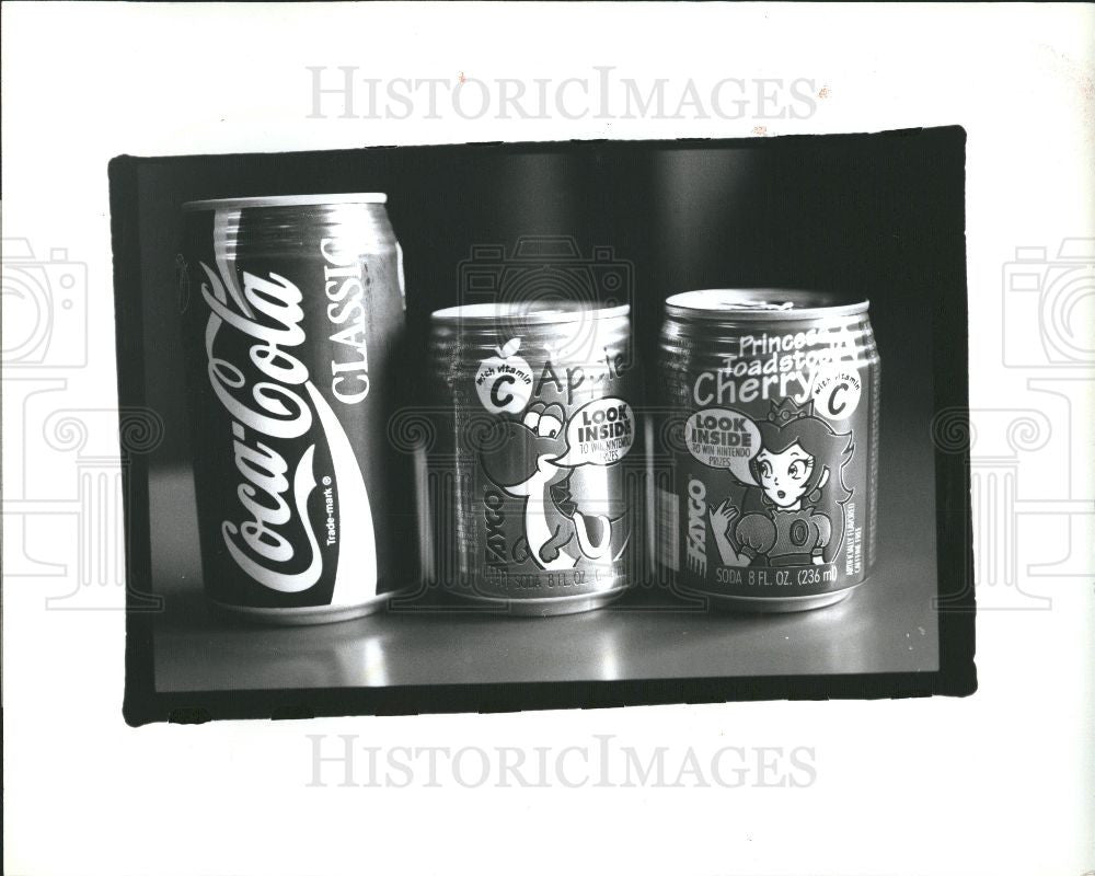 1993 Press Photo Faygo in Detroit, Michigan - Historic Images