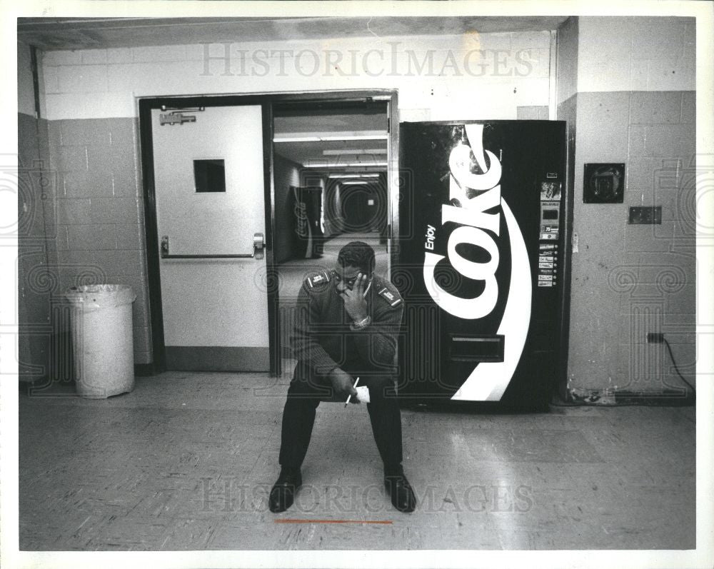 1993 Press Photo Finney High School Dean Adams - Historic Images