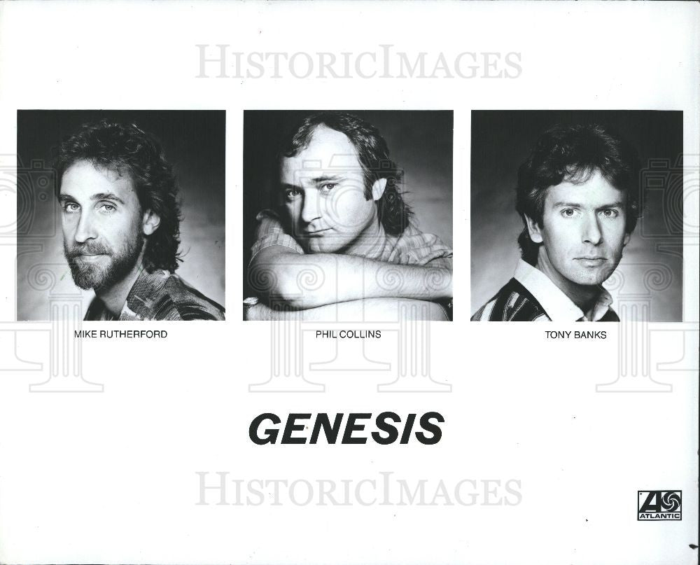 1990 Press Photo Phil Collins - singer - Historic Images