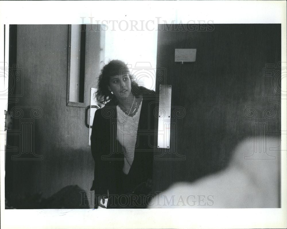 1991 Press Photo Linda Conflitti - Historic Images