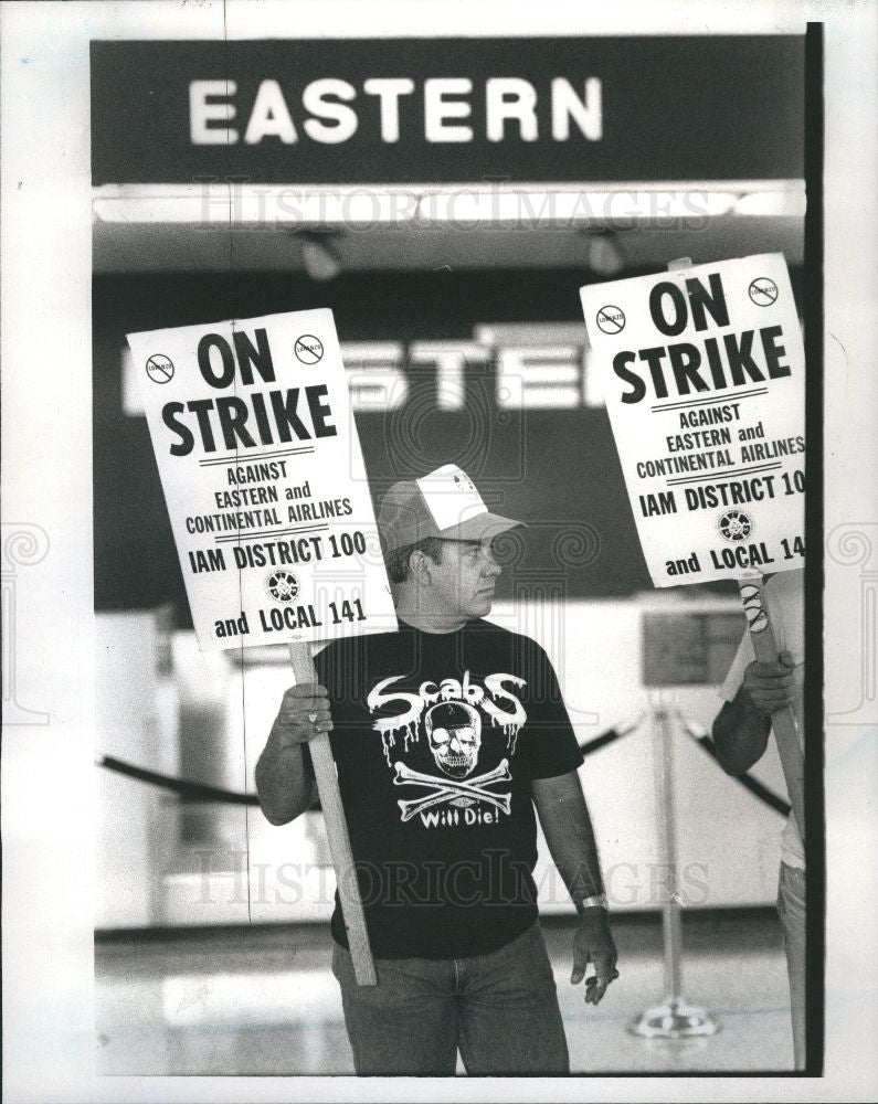 1989 Press Photo Eastern Outlines - Historic Images