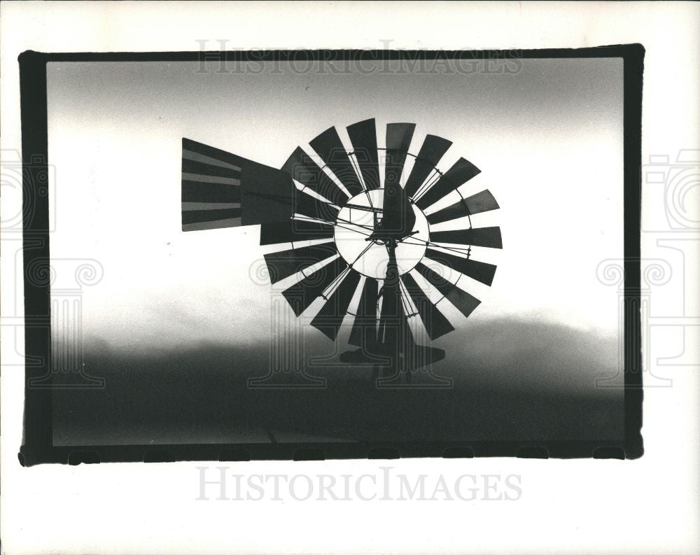 1988 Press Photo Drummond Island - Historic Images