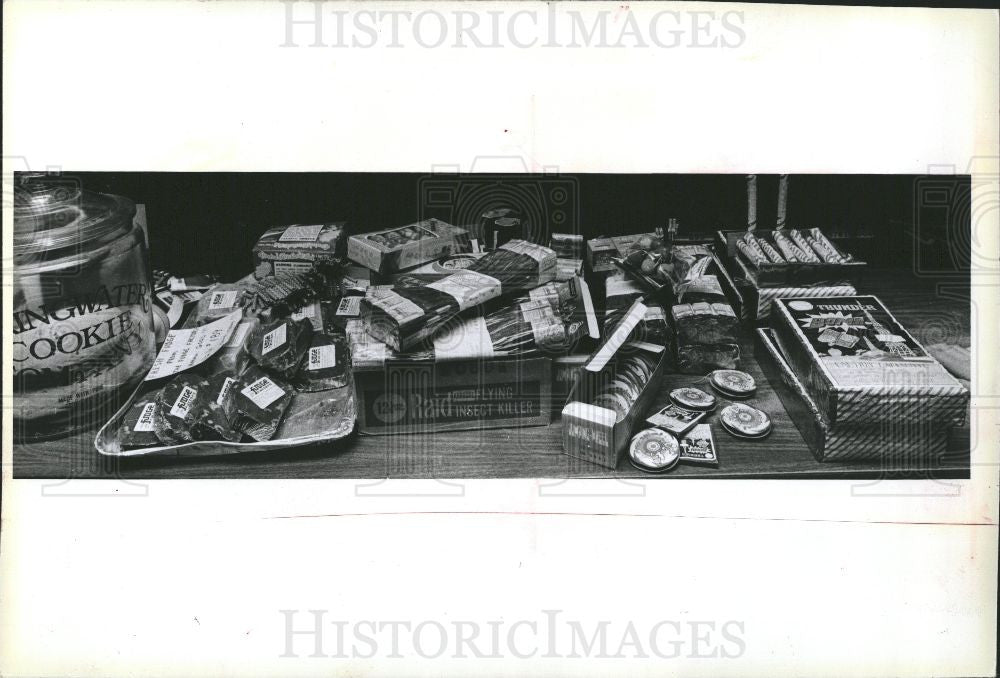 1979 Press Photo Fireworks - Historic Images