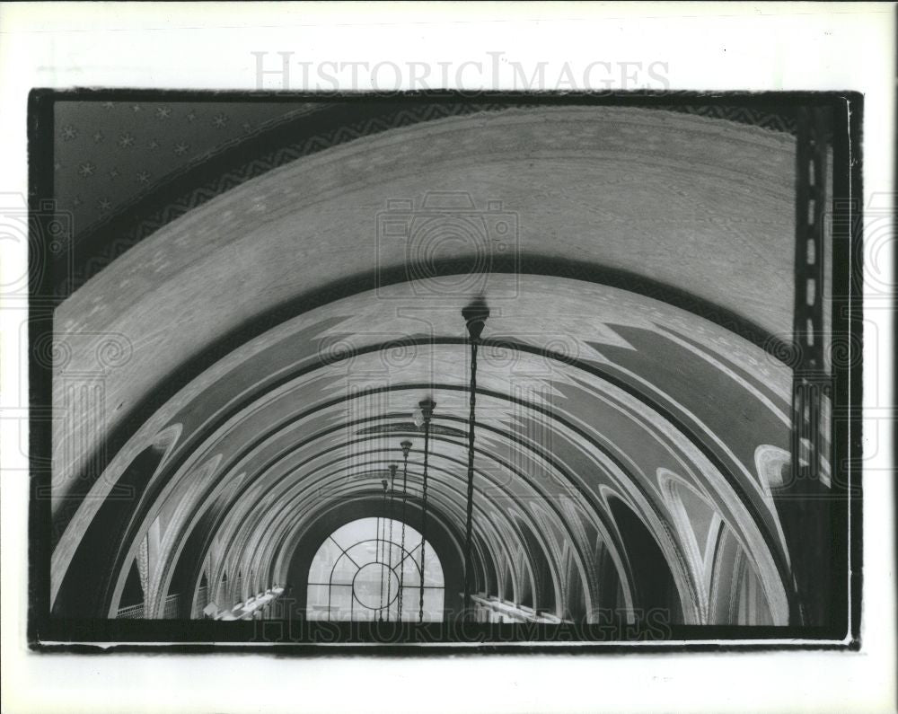 1988 Press Photo Fisher Building - Historic Images