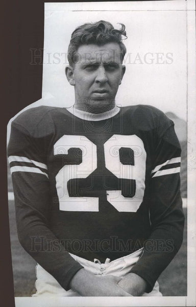 1946 Press Photo Pete Sullivan 1946 Football - Historic Images