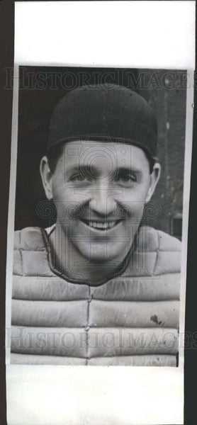 1940 Press Photo Detroit Tigers Billy Sullivan Baseball - Historic Images