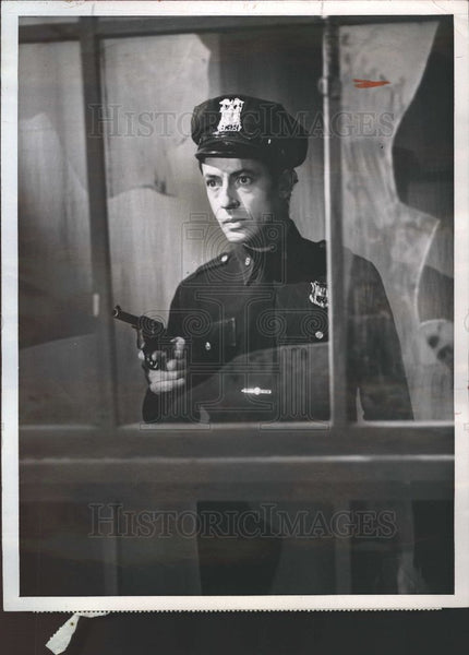 1955 Press Photo Farley Granger, United States Steel Ho - Historic Images