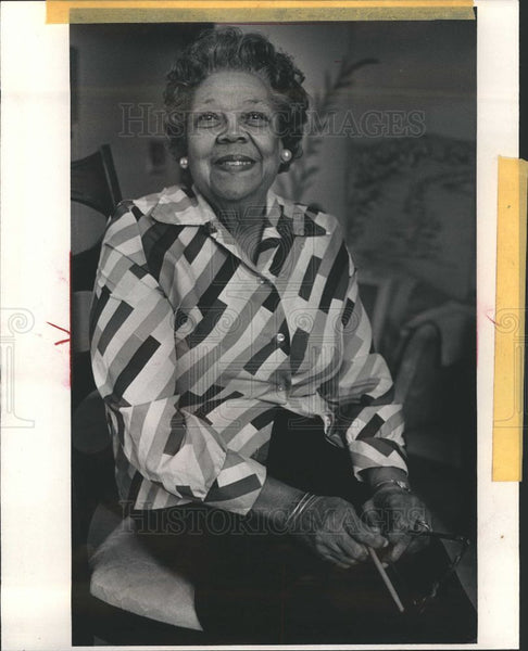 1984 Press Photo Irene Graves Activist volunteer - Historic Images