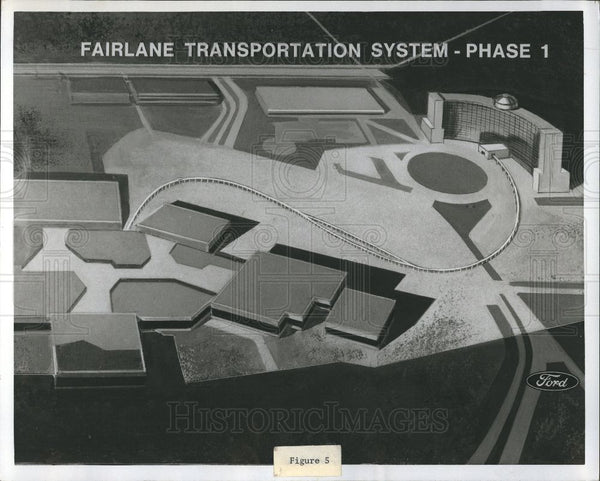 Press Photo Fairlane Transportation System Phase 1 - Historic Images