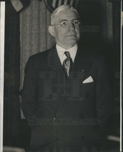 1934 Press Photo L J Taber - Historic Images