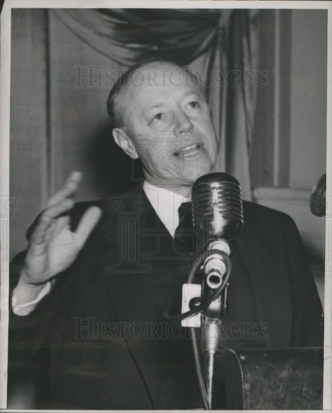 1948 Press Photo Robert Taft United States Senator Ohio - Historic Images