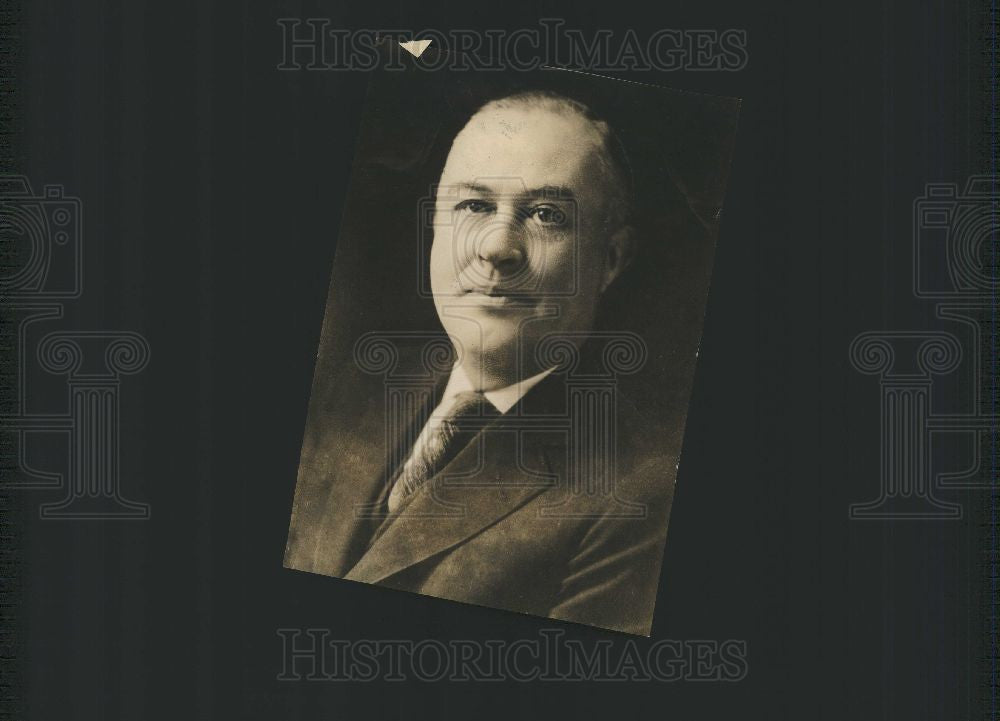 1925 Press Photo Everitt  President  General Manager - Historic Images