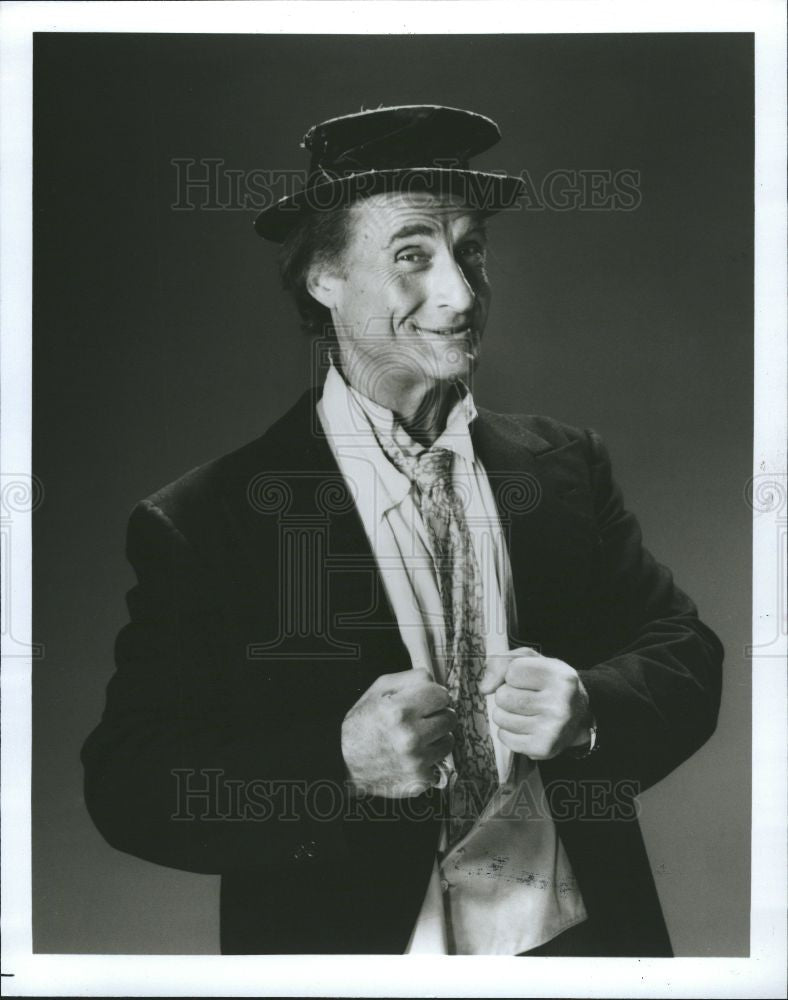 1990 Press Photo Evening with Sid Caesar Raphael Delano - Historic Images