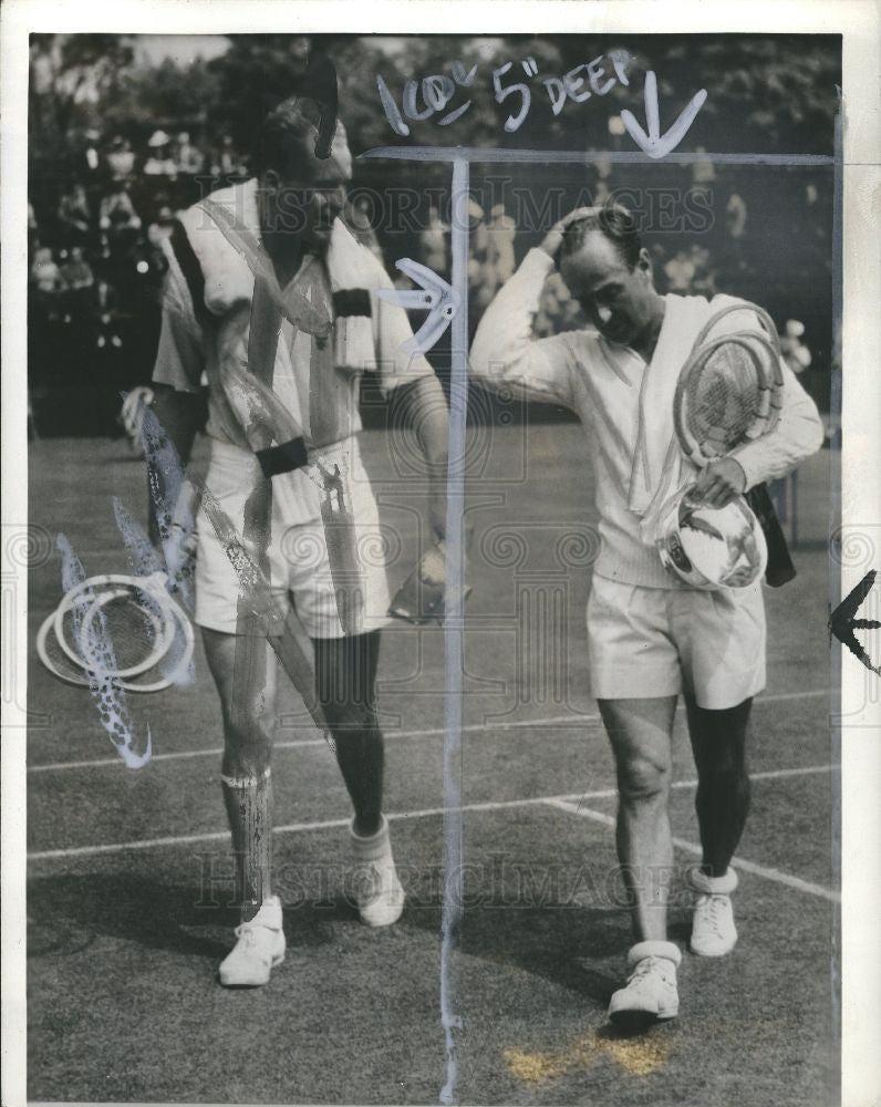 1939 Press Photo ADRIAN QUIST, TENNIS PLAYER - Historic Images