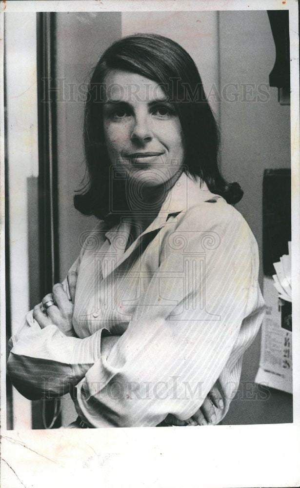 1978 Press Photo Jane Bryant Quinn financial columnist - Historic Images