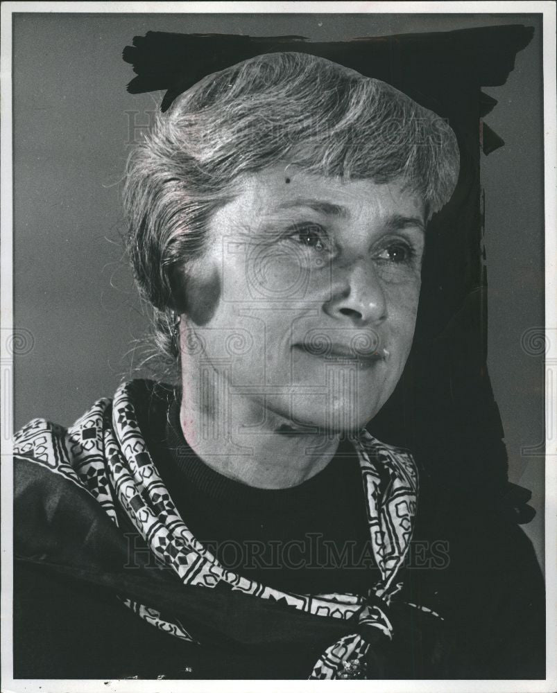 1978 Press Photo Mrs. Marjorie Guthrie - Historic Images