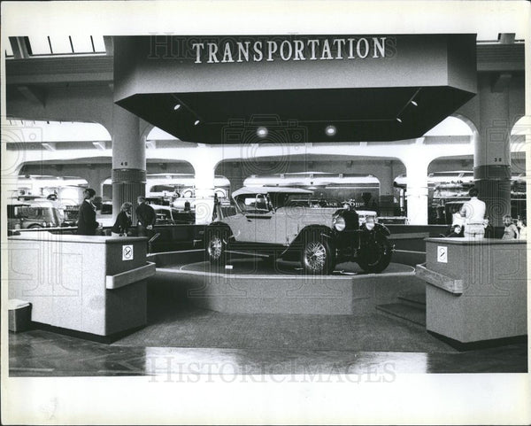 1978 Press Photo Henry Ford Museum Americana Dearborn - Historic Images